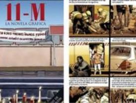 Sale a la venta un cómic sobre el 11-M
