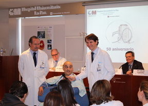 La Paz realiza con éxito un trasplante bilateral de brazos