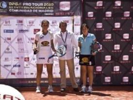 Icíar Montes y Patricia Llaguno se proclaman vencedoras del campeonato internacional de padel de Madrid