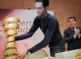 Madrid homenajea a Contador