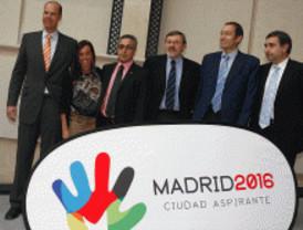 Los deportistas dan su apoyo a Madrid 2016
