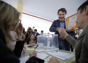 Los políticos madrileños animan a los electores a votar