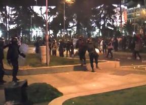 Ocho detenidos y nueve imputados en una operación por los disturbios del 22M
