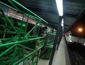 Restablecido el servicio en la estación de Cercanías de Recoletos
