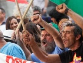 Concentración de apoyo a los jornaleros andaluces