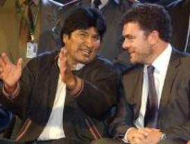 Leganés recibe a Evo Morales