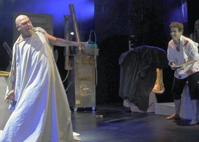 Escena del musical 'Frankenstein'