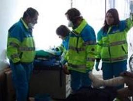 Tres heridos por el derrame de 1.000 litros de ácido sulfúrico