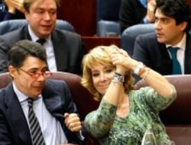 La Asamblea aprueba los presupuestos de Aguirre y el 'tijeretazo' al sector público