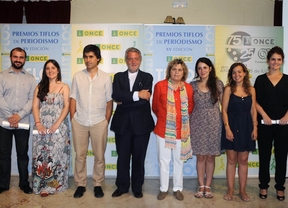 La ONCE entrega sus premios Tiflos de periodismo