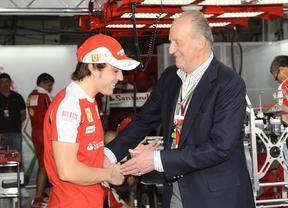 El Rey Juan Carlos confirma el fichaje de Alonso por McLaren