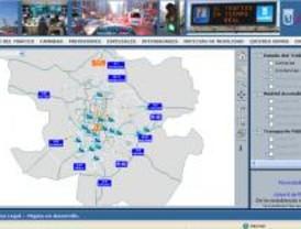 El tráfico de Madrid al completo a un solo clic