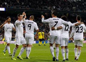 7-3: el Real Madrid golea al Sevilla en el Bernabéu