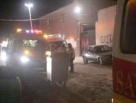 Tres heridos muy graves en un incendio en la Cañada Real Merina