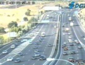 Menos tráfico en las carreteras madrileñas
