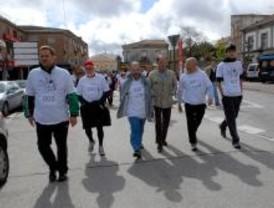 El mal tiempo no deslució la Marcha celebrada en Pozuelo
