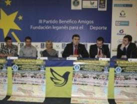 Presentan el III Partido Benéfico Amigos de la Fundación Leganés para el Deporte