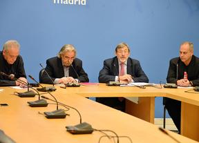 Reunión de representantes sindicales con Perez (IU) y Lissavetzki (PSOE)