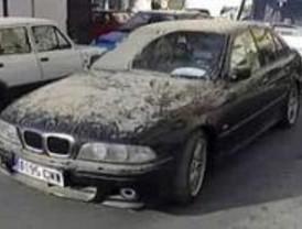 11-M: La Policía Científica retira el coche de