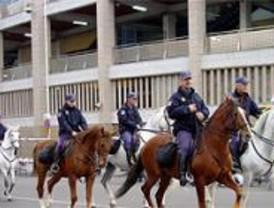 Máxima alerta policial ante el derby madrileño