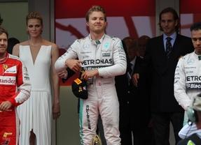 G.P. de Mónaco. A Rosberg le toca la Bonoloto