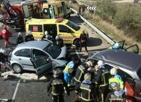 Un fallecido y dos heridos graves en un accidente de tráfico en la carretera de Colmenar