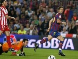 El Barça arrasa al Atlético de Madrid