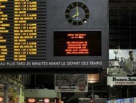 Suspendidos los trenes París-Madrid por la huelga de ferroviarios en Francia