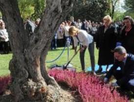 Madrid dedica un jardín a Miguel Miranda, víctima de ETA