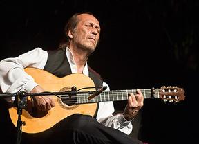 Paco de Lucía durante el concierto que dio en Madrid en Los Veranos de la Villa del año 2010.