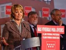 Aguirre entrega 115 viviendas protegidas en el Ensanche de Vallecas