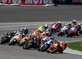 Lorenzo y Rossi se quejan de los neumáticos Bridgestone