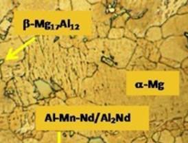 Nuevas aleaciones de magnesio con mayor resistencia a la corrosión