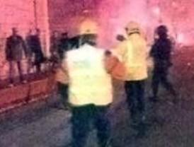 La pelea de hinchas del Atlético y el Aberdeen causa 17 heridos