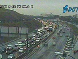 Las lluvias dificultan el tráfico