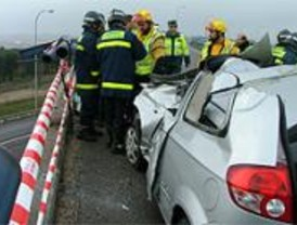 Nueve muertos en las carreteras durante la Navidad, dos más que en 2006