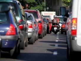 Tráfico lento en la segunda jornada de huelga