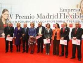 Esperanza Aguirre entregó los premios Madrid Empresa Flexible