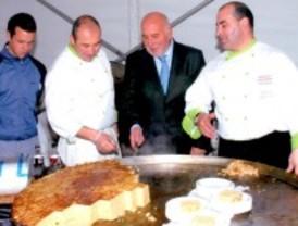 Día de la tortilla en Barajas