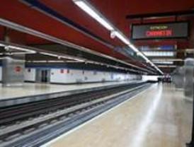 Cortada la L-1 de Metro entre Tetuán y Chamartín hasta el día 29