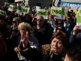 Más de 500 víctimas de PSG y Ofigevi se manifiestan en Getafe
