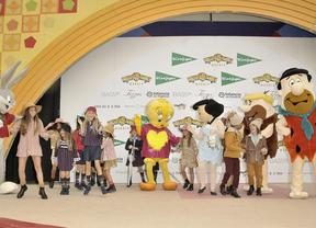 La moda infantil de El Corte Inglés desfiló por la Warner