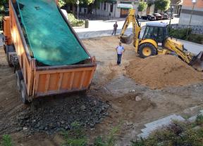 El Ayuntamiento desmantela el huerto vecinal de la plaza de Peñuelas