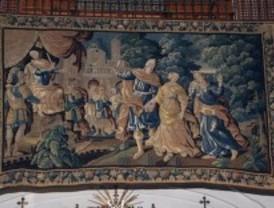 La iglesia de las Calatravas acoge una muestra única de tapices renacentistas y barrocos