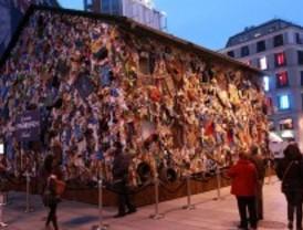Un hotel de basura en la plaza de Callao
