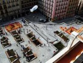 La plaza de Santo Domingo recupera su espacio para el peatón