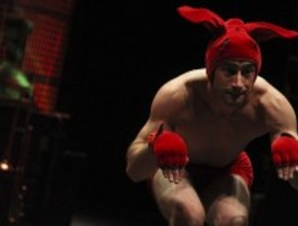 Acrobacias australianas en el Circo Price