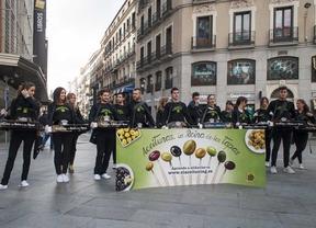 Las aceitunas toman las calles de Madrid