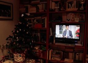 El discurso de Felipe VI supera los 8,2 millones de espectadores