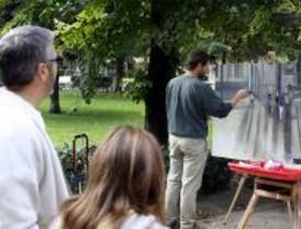 75 pintores participan en un Curso de Pintura de Paisaje de Albarracín